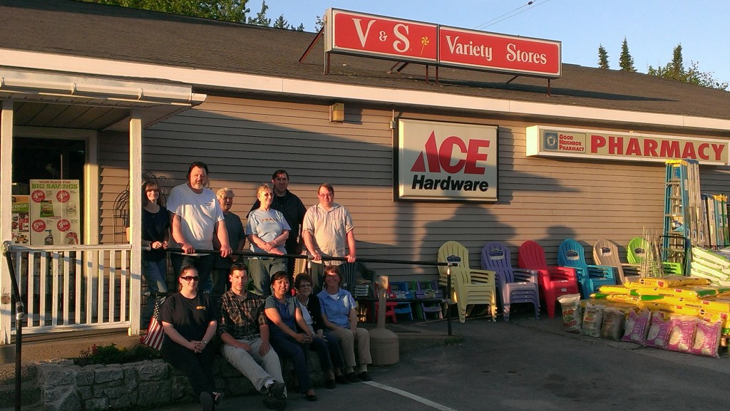 Island Employee Cooperative board standing in front of one of the stores they bought on June 11, 2014, becoming Maine's largest worker-owned cooperative with the help of our Business Ownership Solutions program.