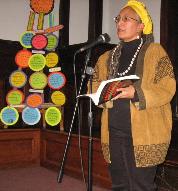 "Jessica Gordon Nembhard, PhD, at ""Celebrating Collective Courage"" 3/7/2015"