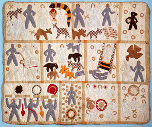 Harriet Powers Bible quilt, 1886. Quilt image Courtesy of National Museum of American History, Smithsonian Institution