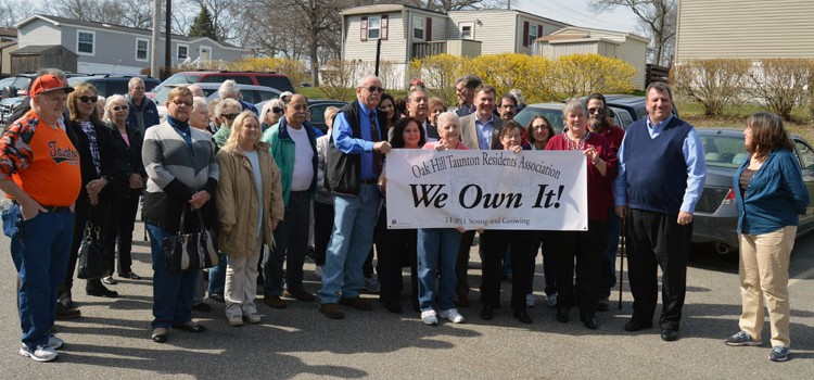 Cooperative Ownership Unites Oak Hill Mobile Home Park