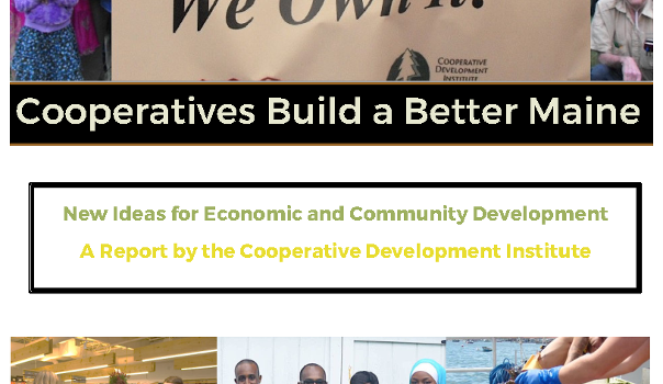 New Report: Cooperatives Build a Better Maine