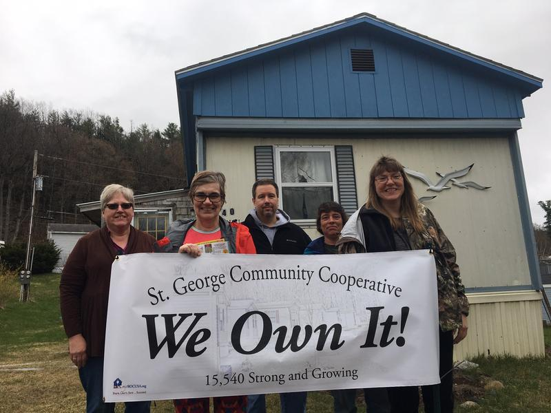 Resident owners at the new St. George Cooperative